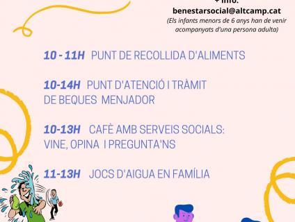 Activitats Mas del Plata Divendres 9 de juliol 2021