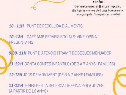 Activitats Mas del Plata Divendres 16 de juliol 2021